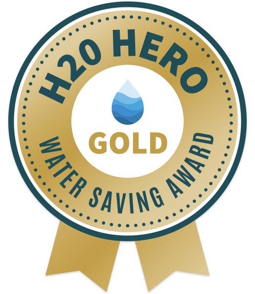 H2O Hero: Gold Water-Saving Award