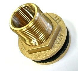 32/25mm Brass Outlet MF Thread for water tanks