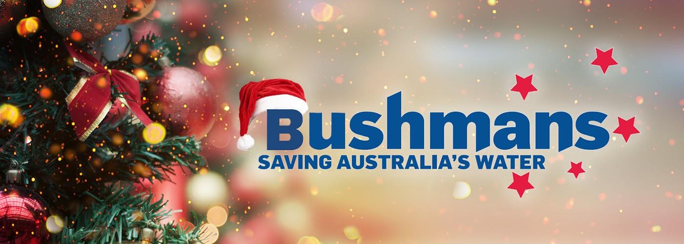 Bushman Tanks Christmas Card