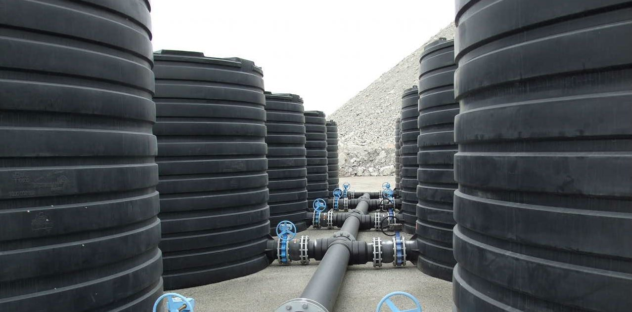 Liquid Storage Tanks for mining