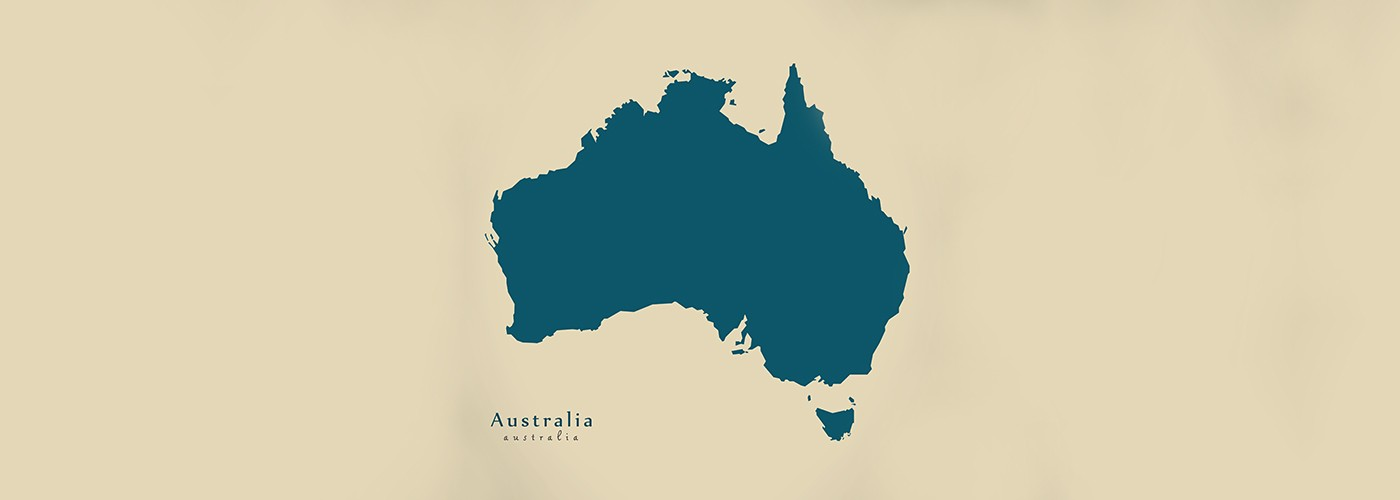 A map of Australia for a Rainwater Harvesting Blog