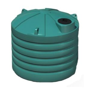 5,000 Litre Storm Water Tank in green
