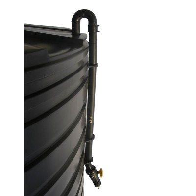 A Black Riser Pipe
