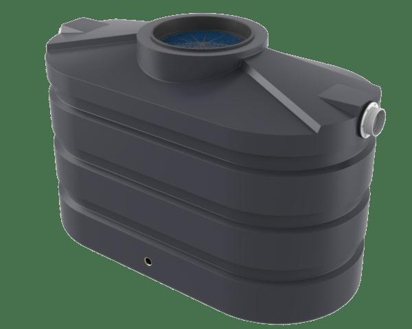 Slate grey slimline water tank Bushman Tanks