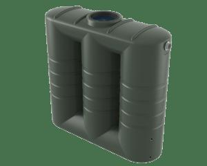 2000 litre slimline rainwater tank Bushman Tanks
