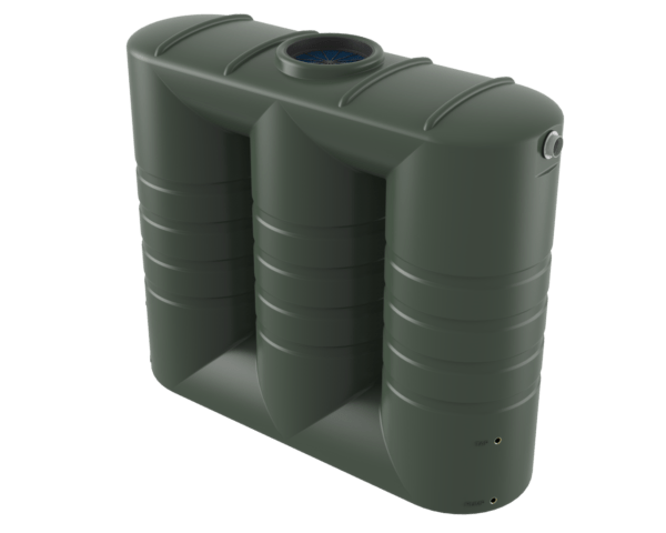 3000 litre slimline rainwater tank Bushman Tanks