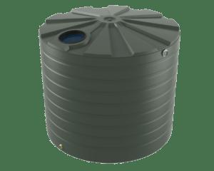 10000 litre tall rainwater tank Bushman Tanks