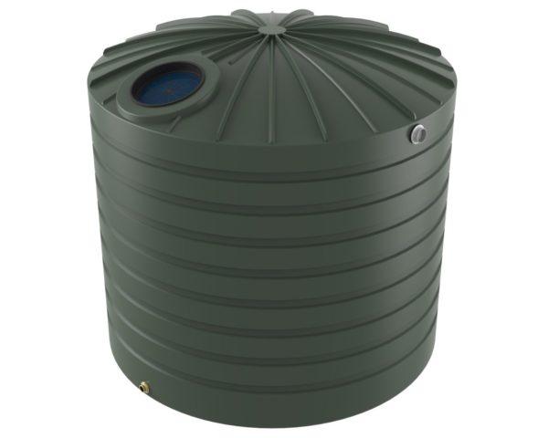 10000 litre domed storm water tank Bushman Tanks