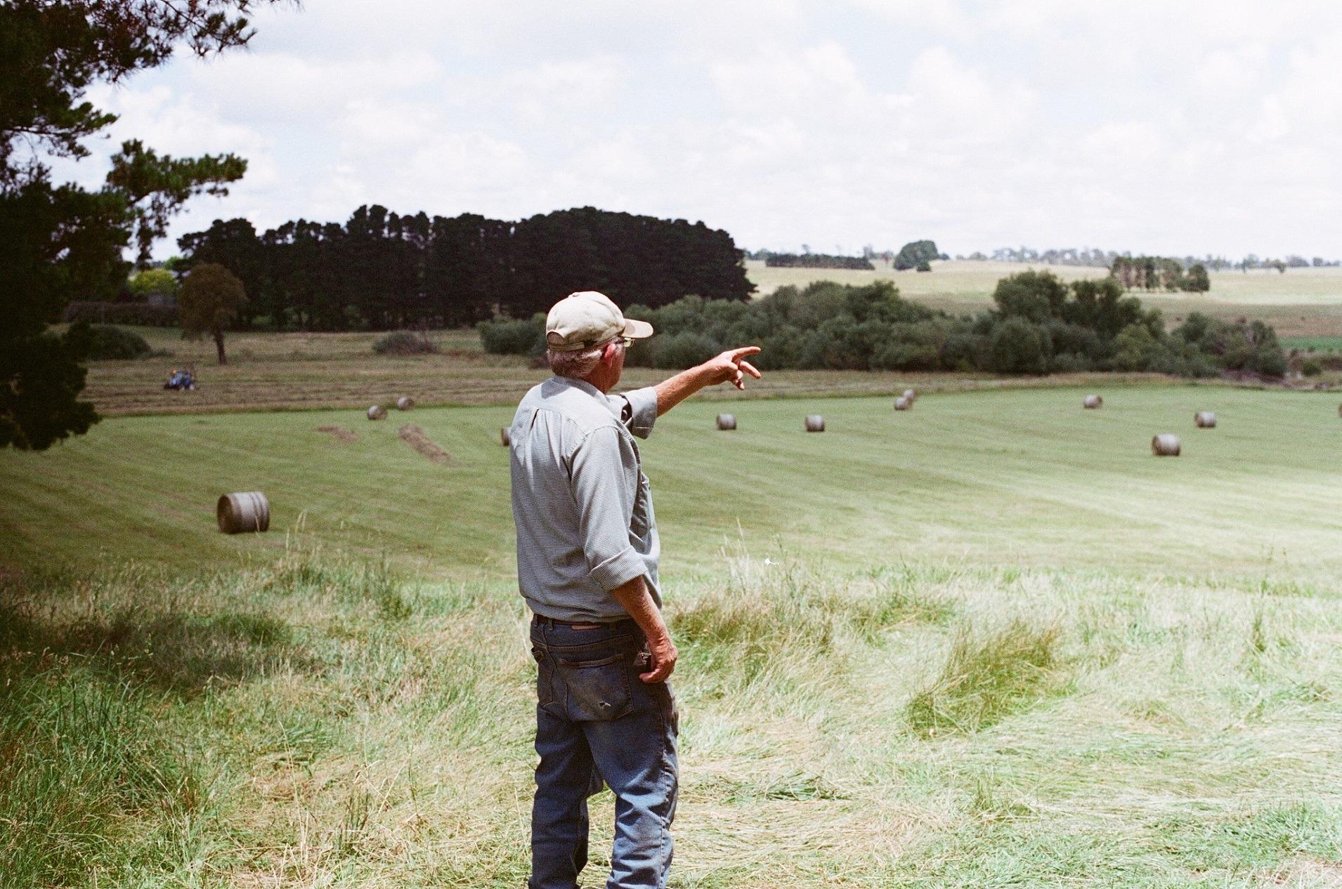 Farmer in Australia