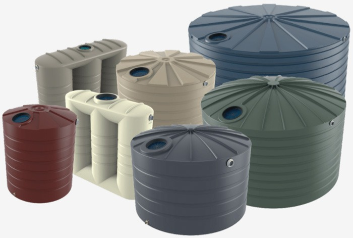 Range of Bushmans water tanks